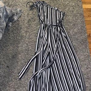 Strip jumpsuit